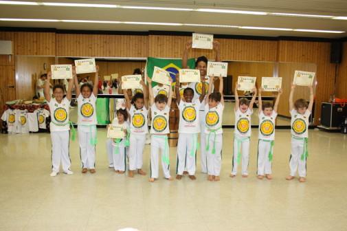 1. Capoeiraprüfung für die Kleinen
